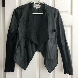 BB Dakota Siena Draped Jacket XS